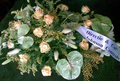 Rouwstuk/bloemstuk D2